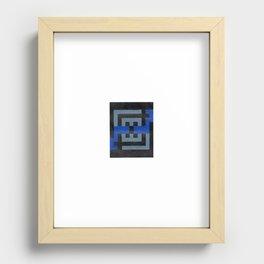 maze Recessed Framed Print
