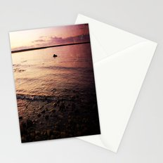 Red Skies Stationery Cards