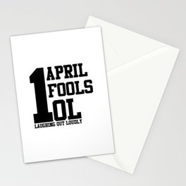 April Fools Stationery Cards