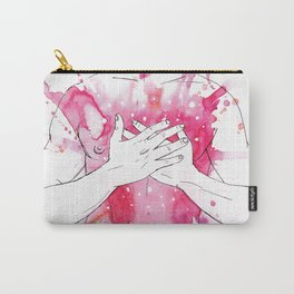 exploding heart Carry-All Pouch