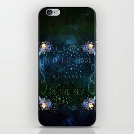 Dissolve in the sky iPhone Skin
