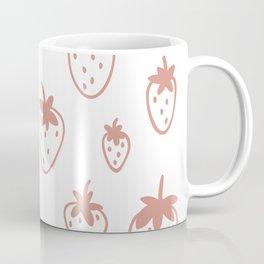 Strawberry Fields Pattern Coffee Mug