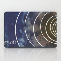 moon phases iPad Cases featuring Moon Phases by rollerpimp