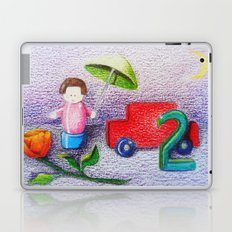 Crayon Love Toys I've Stepped On Laptop & iPad Skin