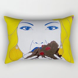 I Want All The Cake Rectangular Pillow