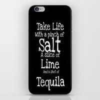 tequila iPhone & iPod Skins featuring Tequila by  Alexia Miles photography