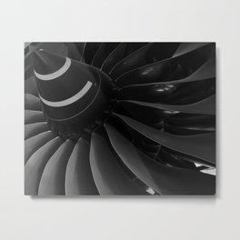 Turbine Blades Metal Print