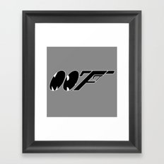 Mr. F (b) Framed Art Print