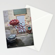 The brain Stationery Cards