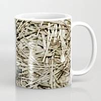 hook Mugs featuring Hay Hook by Urlaub Photography