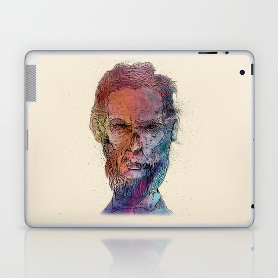 Zombie Lincoln Laptop & iPad Skin