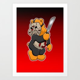 Jason Bearhees Art Print