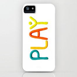 PLAY (Warm) iPhone Case