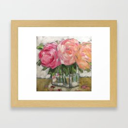 Pink as Pink Can Be Framed Art Print