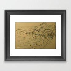 Swamis Sketch Framed Art Print