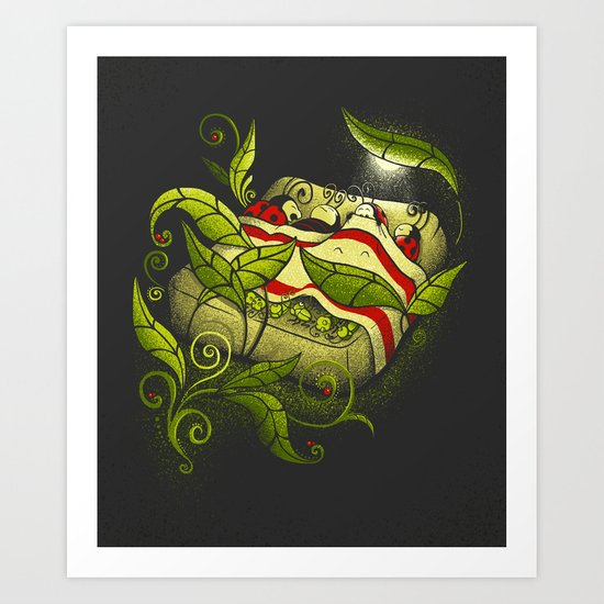 Bed Bugs Art Print