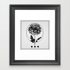 Inked II Framed Art Print