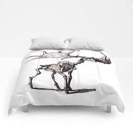 Irish Elk Skeleton Comforters