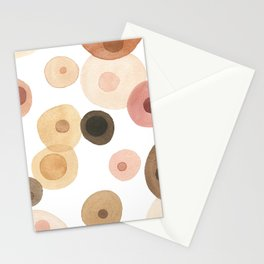 Abstract Boobs Stationery Cards