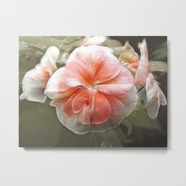 Busy and Beautiful Metal Print