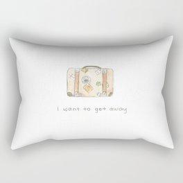 Wanderlust. Rectangular Pillow