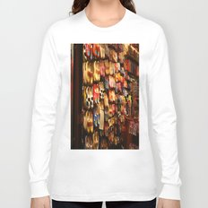 Knock On Wood...With Your Feet Long Sleeve T-shirt