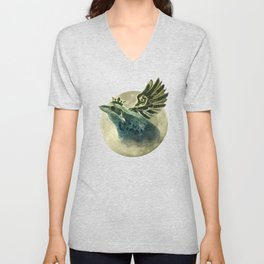 Frog Prince Midnight Fantasy Unisex V-Neck