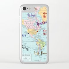 Fashion Capitals Clear iPhone Case