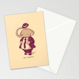 Eleg-phant Stationery Cards