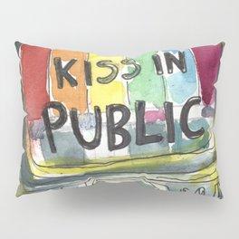 kiss in public Pillow Sham