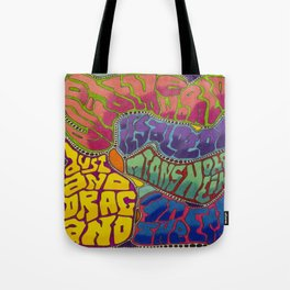 Dust and Drag Tote Bag