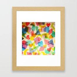 Full Deck Framed Art Print