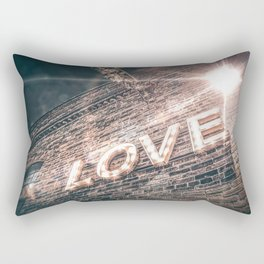 LET LOVE SHINE Rectangular Pillow