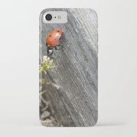 ladybug iPhone & iPod Cases featuring Ladybug by Zen and Chic
