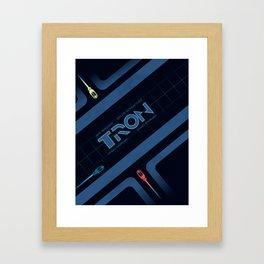 Tron Framed Art Print