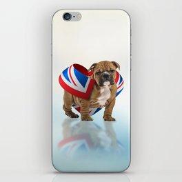 English Bulldog Puppy iPhone Skin