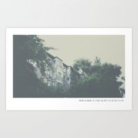waiting for someone else to make you happy is the best way to be sad. Art Print