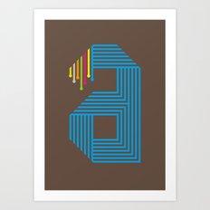 A like A Art Print