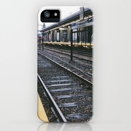 American Cities - Blue Line iPhone Case