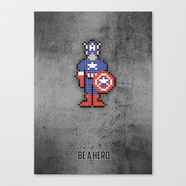 The captain Canvas Print