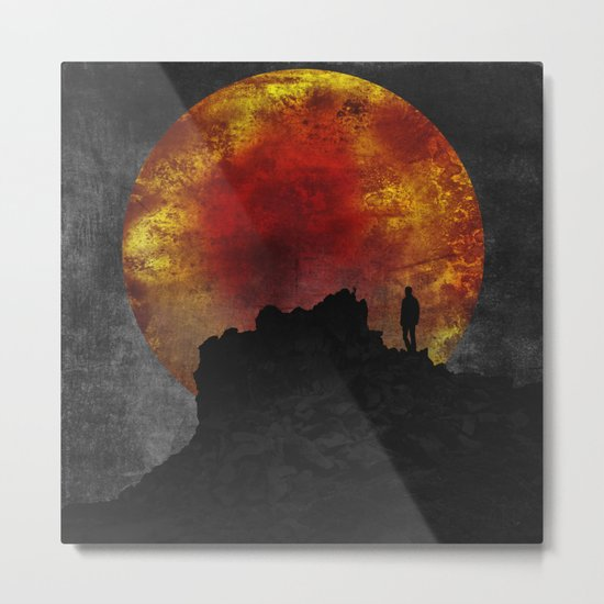 ash and fire Metal Print