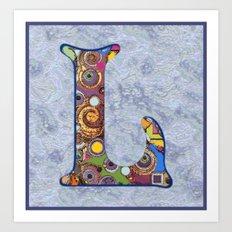 The Letter L Art Print