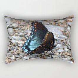 Red-spotted Purple Admiral Rectangular Pillow