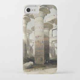Karnac (Karnak) illustration by David Roberts (1796–1864)cc iPhone Case