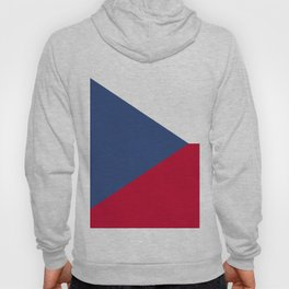 Czech Republic flag emblem Hoody