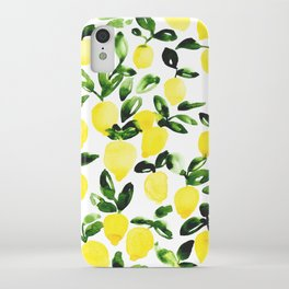 Summer Lemons iPhone Case