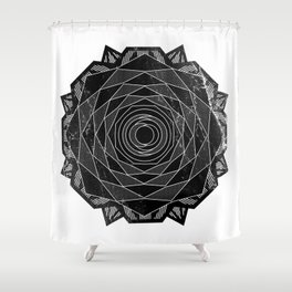 VISION CITY - BORN AMONG THORNS Shower Curtain