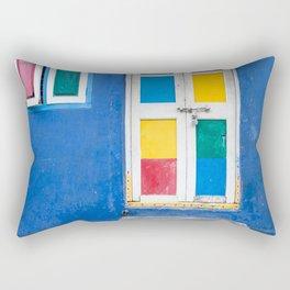 Colorful Indian Door Rectangular Pillow