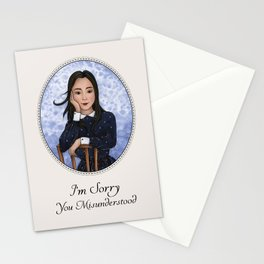 I'm Sorry You Misunderstood Stationery Cards