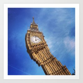 Big Ben, London (2) Art Print